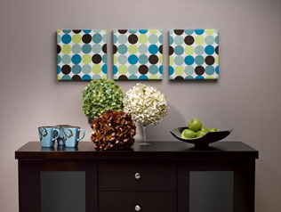 Affordable Wall Art Design Polka