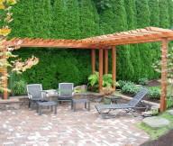 Backyard View Design Garden