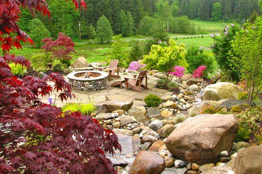 Backyard View Design Japanese