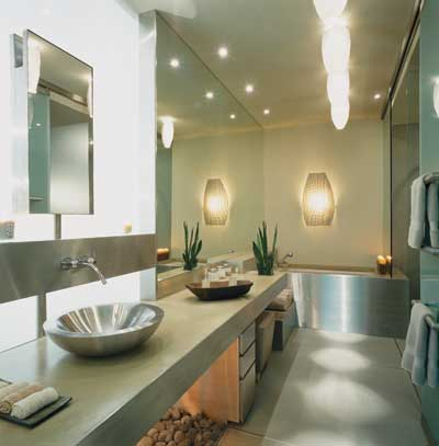 Bathroom Decor Modern Lux Japanese