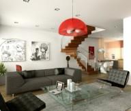 Cozy interior Elegant
