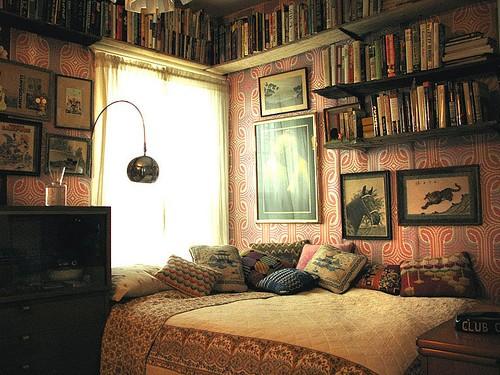 Cozy interior Vintage
