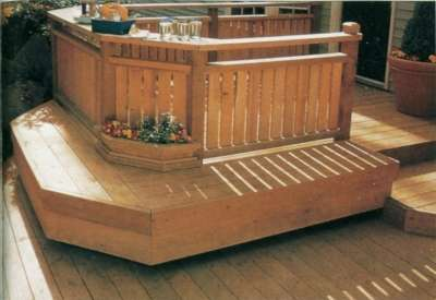 Deck Bench Seat Design
