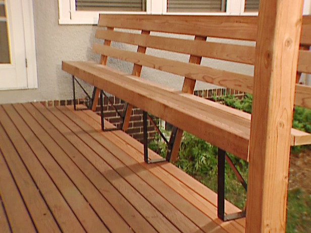 Deck Bench Seat Ideas Kvriver Com