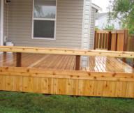 Deck Bench Seat Wrap