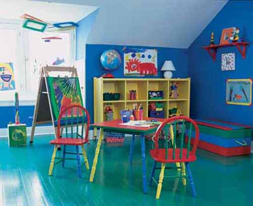 Decorating Kids Playroom Ideas