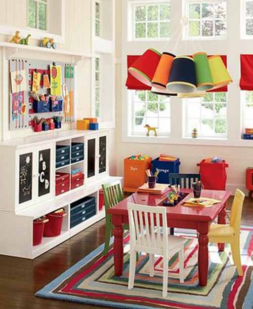 Playroom: Decorating Kids Playroom For Home : KVRiver.com