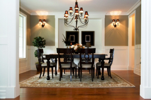 Dining Room Interior Design Ideas Wood Floor