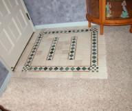 Entryway Tile Design Image