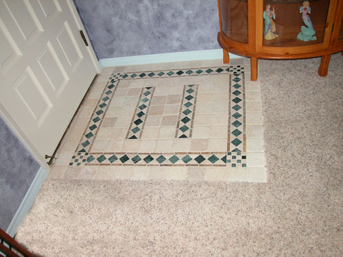 Entryway Tile Design Image