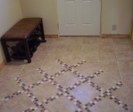 Entryway Tile Design Large