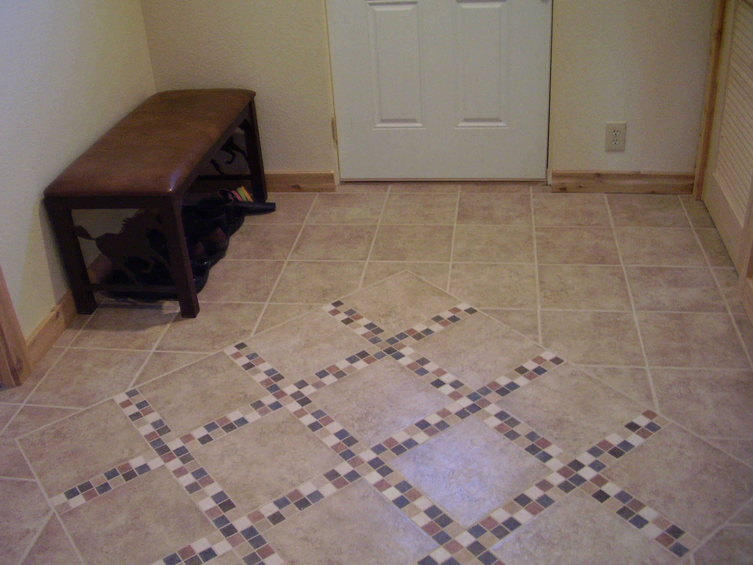 Entryway Tile Design Large
