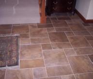 Entryway Tile Design Medium