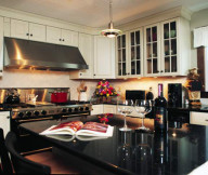 Expensive Kitchen Design Black and White Furniture