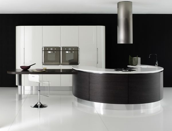 Expensive Kitchen Design with Italian Style