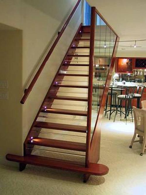 Hardwood Stairs Design Minimalist