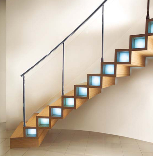 Hardwood Stairs Design Modern