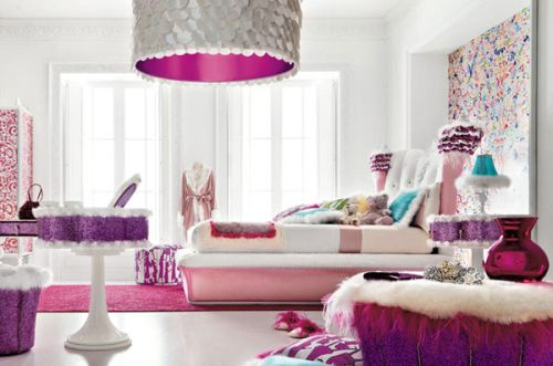 Interior Decoration Themes Girl