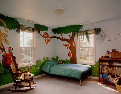 Interior Decoration Themes Jungle