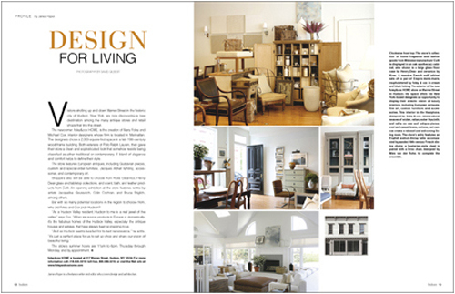 Interior design magazine layout for Interior design magazin