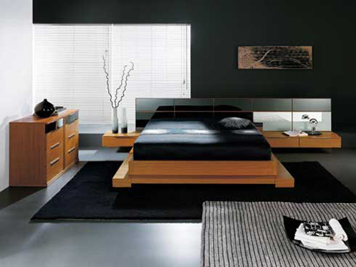Interior Design of Bedroom 2012