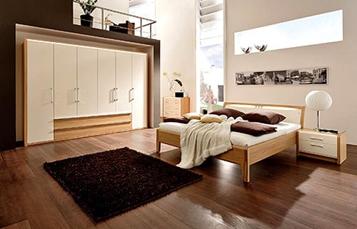 Interior Design of Bedroom Modern