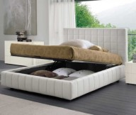 Modern Bed with Storange