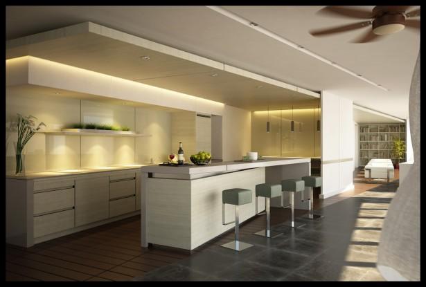 Modern Home Design Ideas for Simple Luxury Kitchen