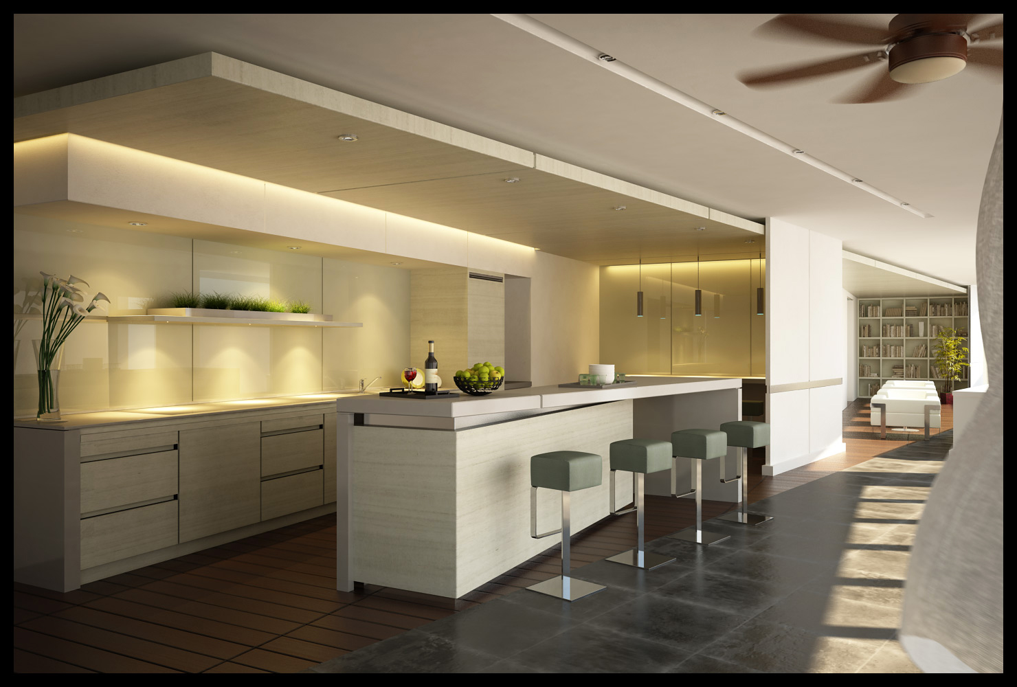 Modern Home Design Ideas for Simple Luxury Kitchen