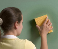Painting Walls Clean