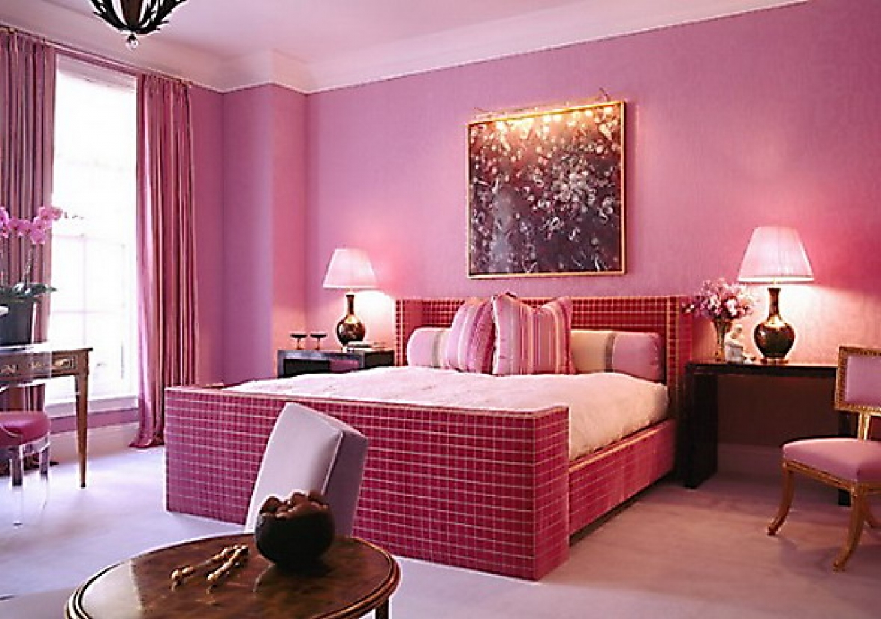 Pink Teenage Girl Room Ideas