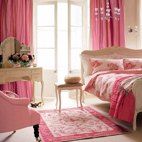 Teenage Girl Room Stylish Girlish