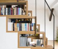 Unique Wooden Stairs Wooden Floor