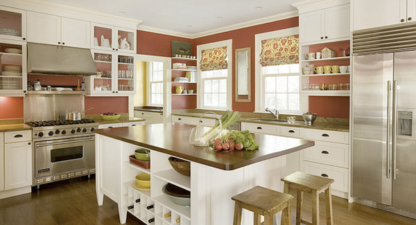 White Expensive Kitchen Design