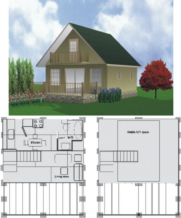Cottage Plans Floor Plans Two Story House