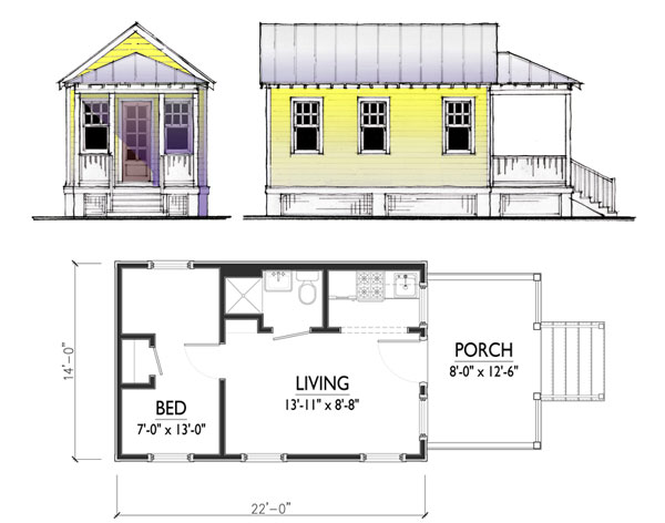 Cottage Plans Floor Plans