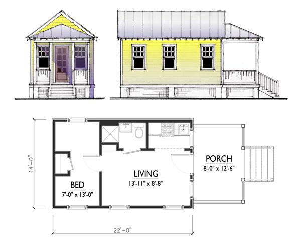 Cottage Plans Floor Plans