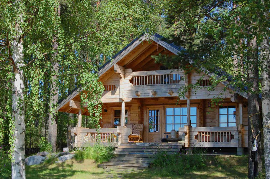 Cottage Plans Wooden Wall Wooden Fence Wooden Stairs