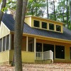 Cottage Plans Yellow Wall Black Roof