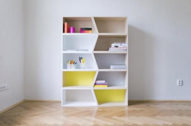 Modular Shelving Units White Simple Shelves
