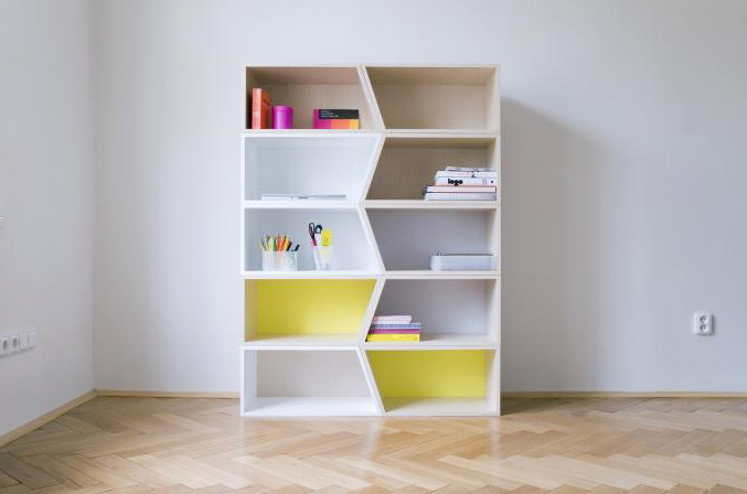 Modular Shelving Units White Simple Shelves