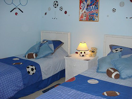 Sports Themed Bedroom Ideas