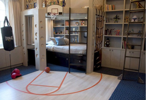 Sports Themed Bedroom Image