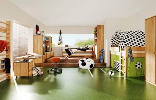 Best Ideas: Sports Themed Bedroom: Energetic Soul, sports themed ...