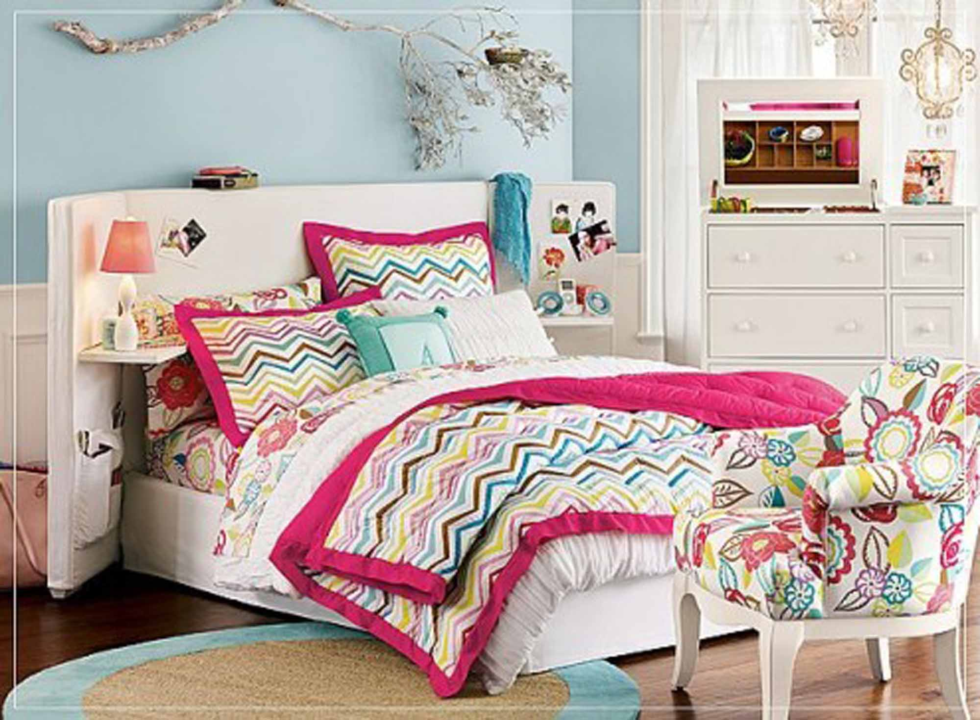 Teenage bedroom ideas for remodeling the bedroom - Teenage girl bedroom decorations ...