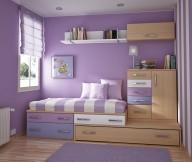 Toddler Room Ideas Purple Wall Wooden Purple Cabinets Purple Carpet