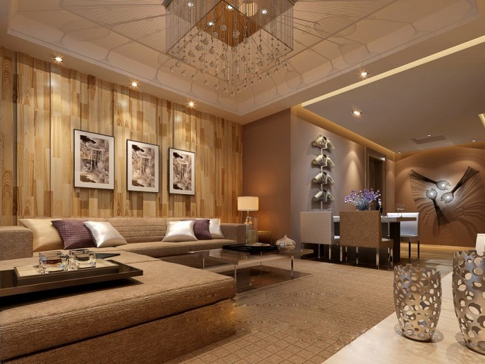 Angular-chandelier-ceiling-lounge-luxury-china- Exercise in Interior Adaptation