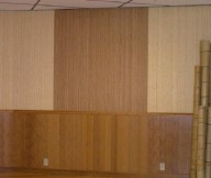 Bamboo Wall Panels Brown Gradation Wall Panel