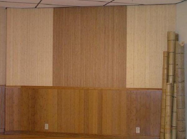 Bamboo Wall Panels Brown Gradation Wall Panel
