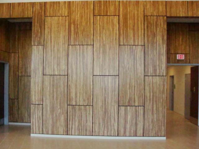 Bamboo Wall Panels Kone Center Panel